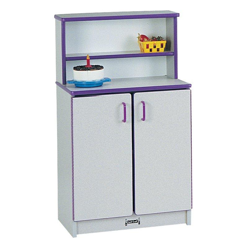 Jonti-Craft Rainbow Accents Kitchen Cupboard