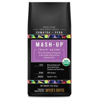Mash-Up Sumatra + Peru Blend Whole Bean Coffee, Dark Roast, 11 Oz