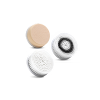 Pulsaderm Sonic Replacement Head, 3 Pack (Normal, Sensitive, and Sponge)