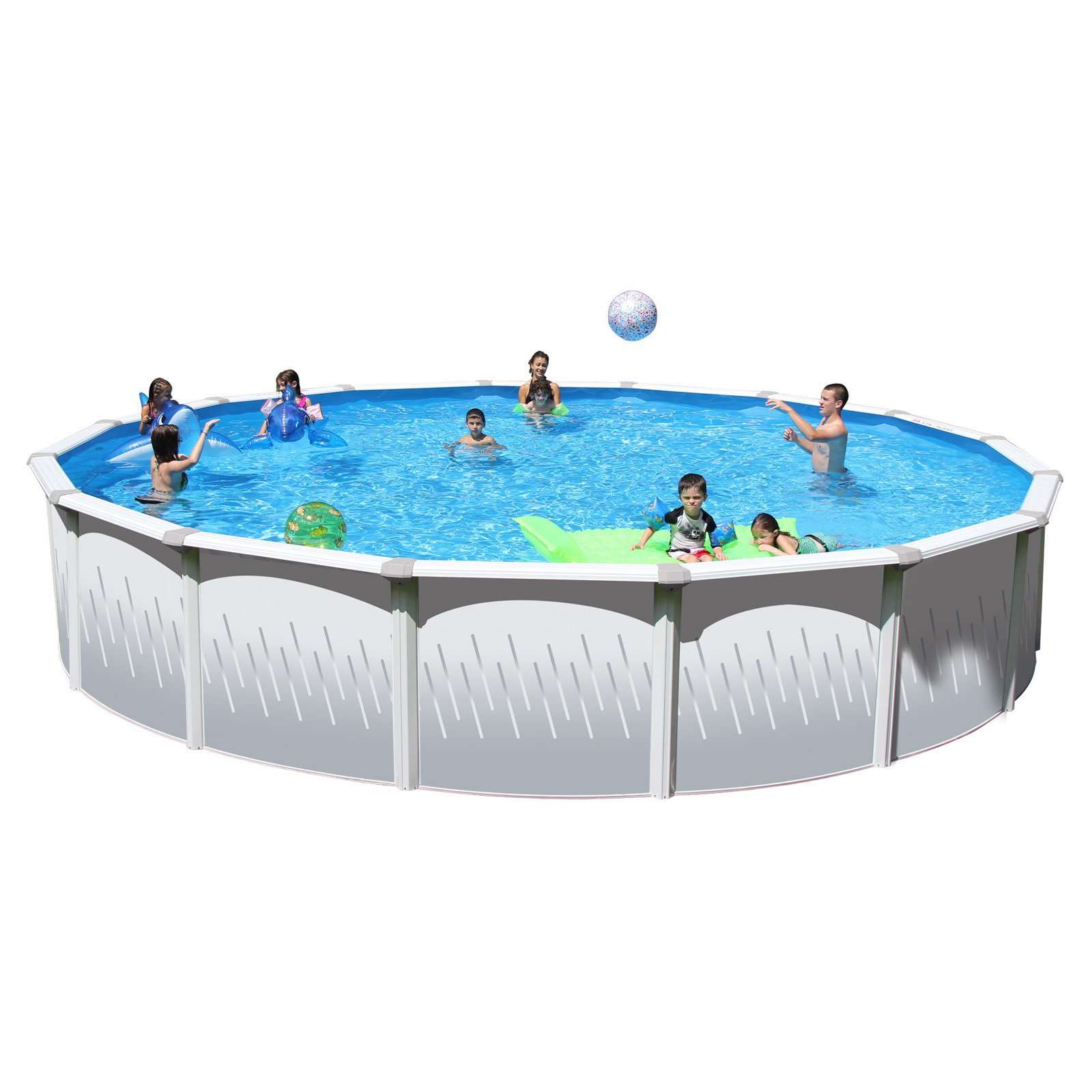 """Heritage Taos 27' x 52""""Steel Wall Above Ground Swimming Pool by Heritage"""