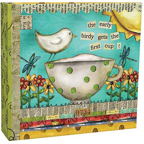 Artisan Recipe Card Album, Color My World