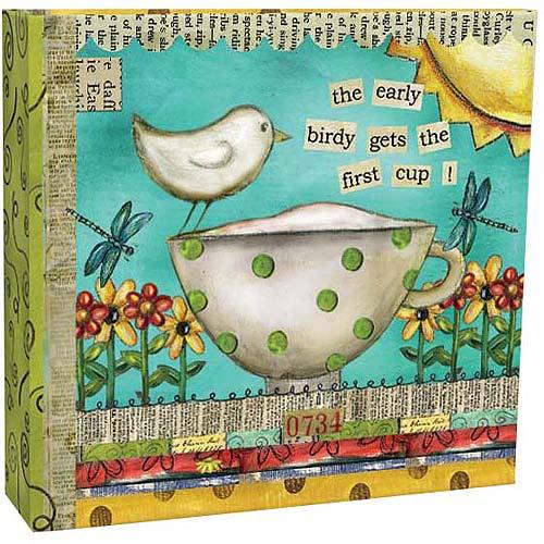 Artisan Recipe Card Album, Color My World