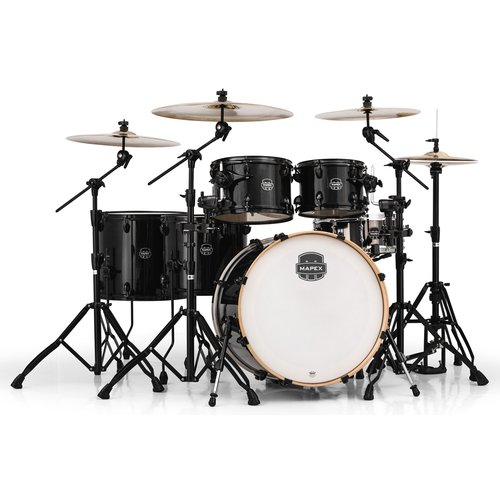 Mapex Armory Series Studioease Fast 6-Piece Drum Shell Pack Transparent Black