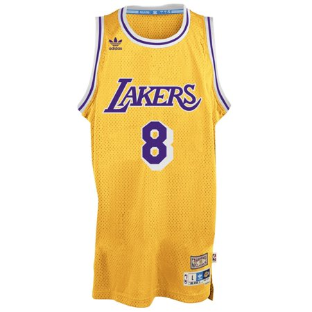 Kobe Bryant Los Angeles Lakers Adidas Nba Throwback Swingman Jersey   Gold