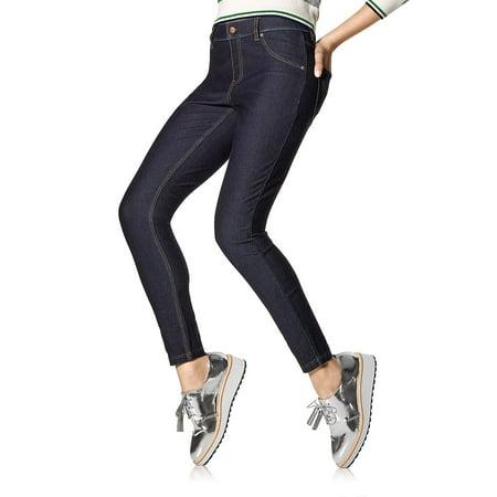 Plus Essential Denim Leggings