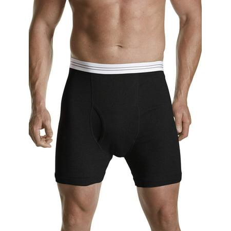 Big Men's Underwear 3pk Knit Boxer Brief, up to (Andrew Christian Mens Underwear)