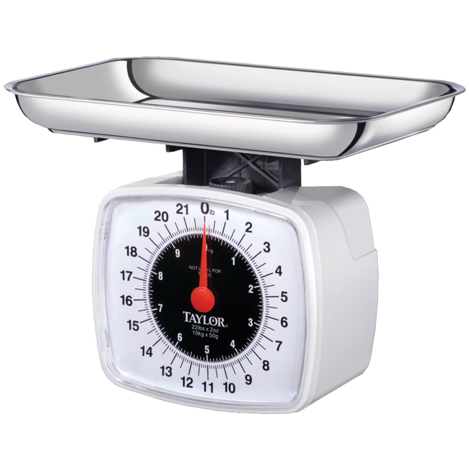 Taylor Precision Products 3880 Kitchen & Food Scale, 22 Lbs