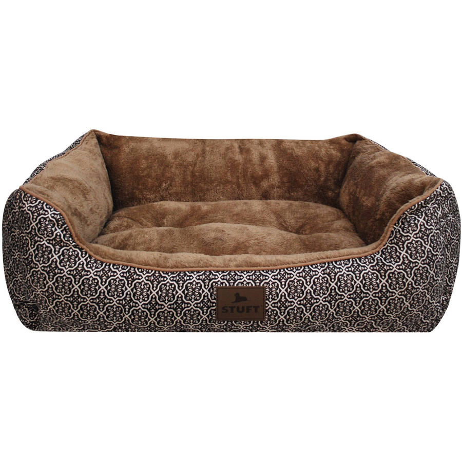 Stuft Urban Lounger Pet Bed, Large, Brown