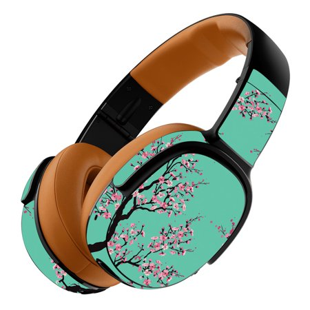 Skin For Skullcandy Crusher 360 Wireless Headphones - Cherry Blossom Tree | MightySkins Protective, Durable, and Unique Vinyl Decal wrap cover | Easy To Apply, Remove, and Change Styles