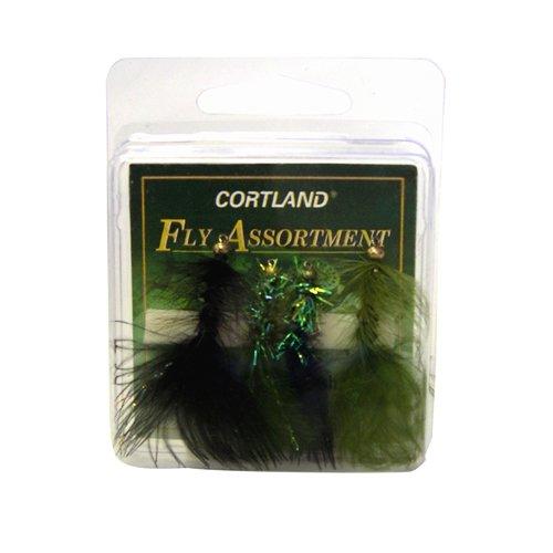 Cortland Flashy Woolly Buggers Assortment, 4pk