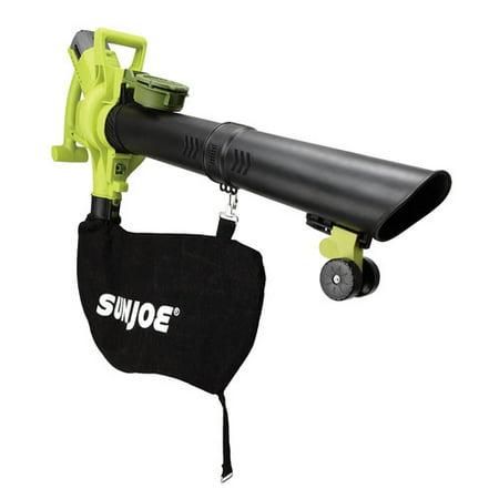Sun Joe iONBV Cordless 3-in-1 Blower | 200 MPH · 4 Ah | Brushless Motor · Vacuum ·