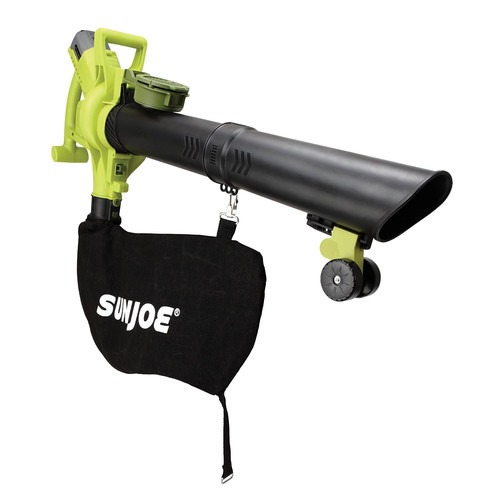 Sun Joe iONBV Cordless 3-in-1 Blower | 200 MPH · 4 Ah | Brushless Motor · Vacuum · Mulcher