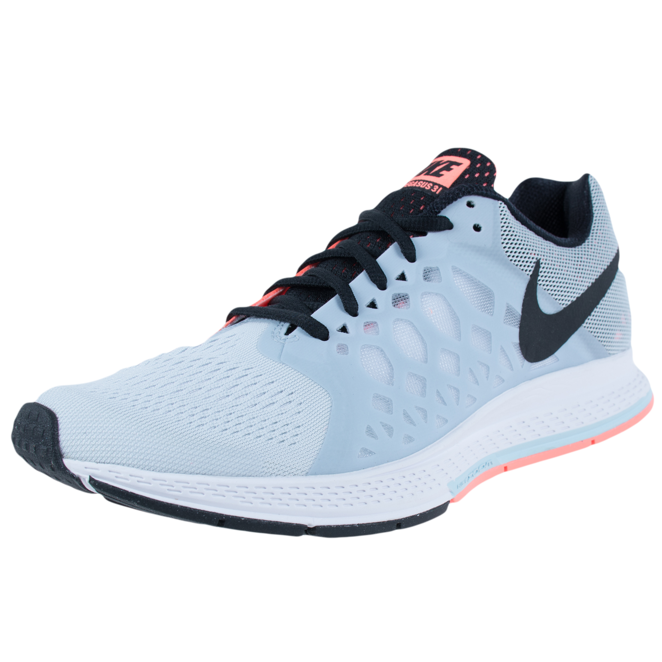best website 51ca4 e82f4 greece nike wmns air zoom pegasus 31 running shoes platnium white 654486  008 sz 9.5 c9a0d