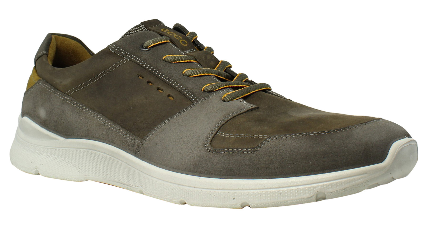 ECCO Mens Irondale WarmGrey Tarmac Fashion Shoes Size 12.5 New by Ecco