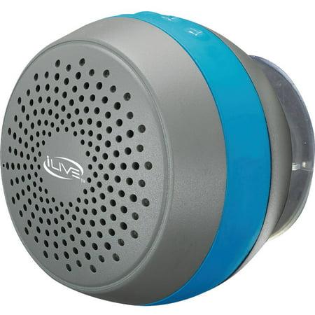 iLive ISBW105BU Water-Resistant Shower Speaker