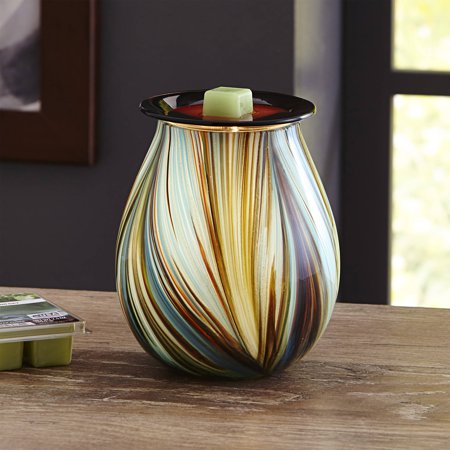 Better Homes & Gardens Mystify Art Glass Full-Size Scented Wax Warmer