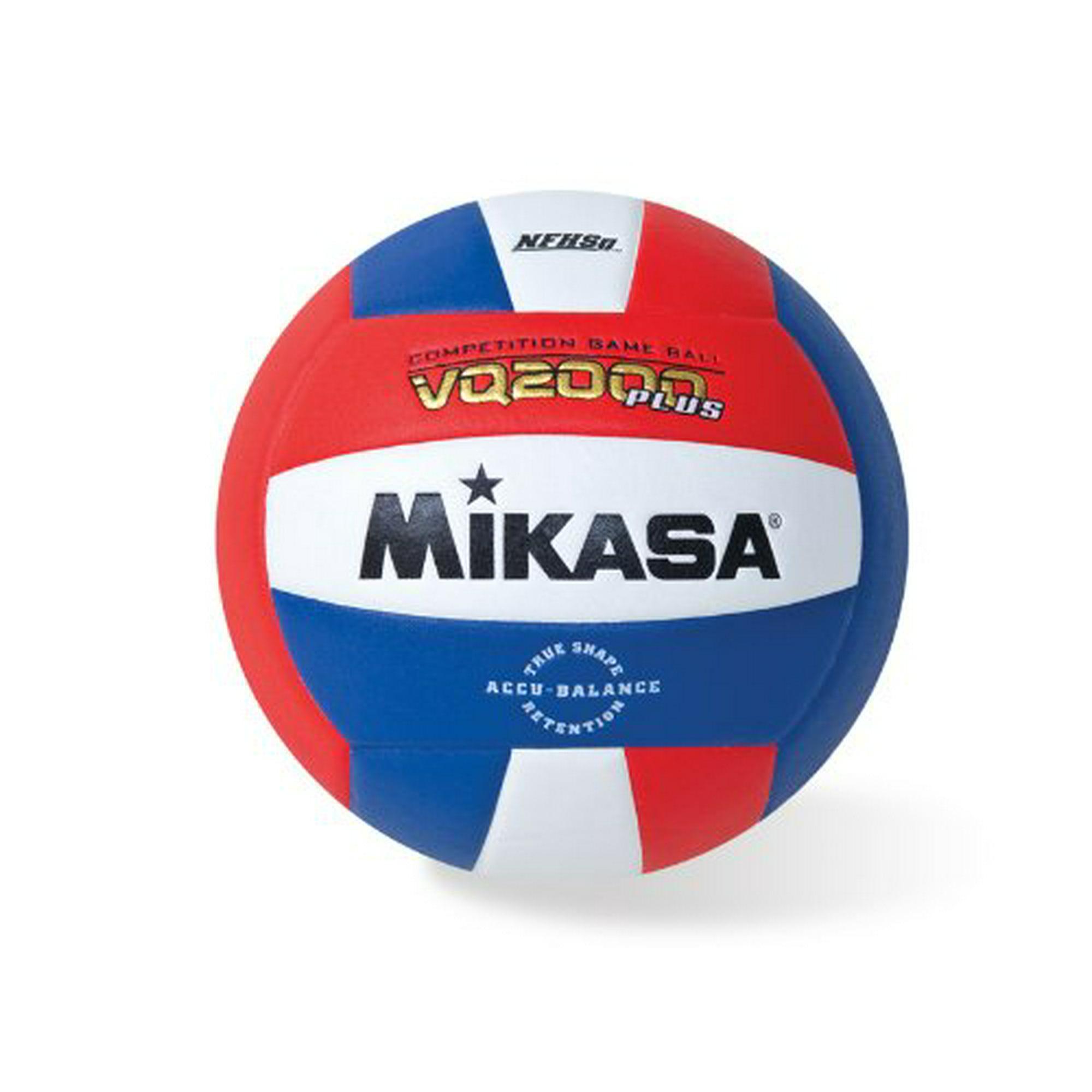 Mikasa Vq2000 Micro Cell Volleyball Red White Blue Walmart Canada