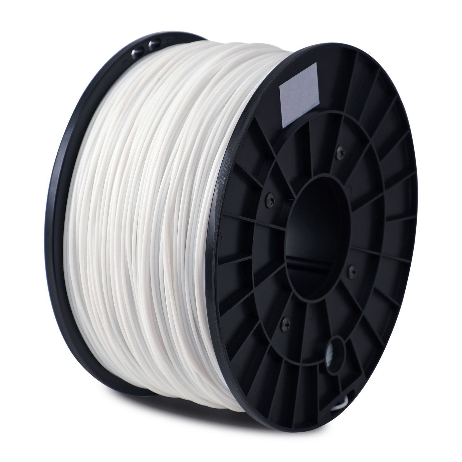 SHOP 3D Supplies ABS White 1.75mm 2.2 lb/1 kg Filament Printing Spool Supply for FlashForge Creator Series (PRO, X, Wood) & Fused Filament Fabrication (FFF) Printers, Reprap, Mendel, Prusa, Makerbot