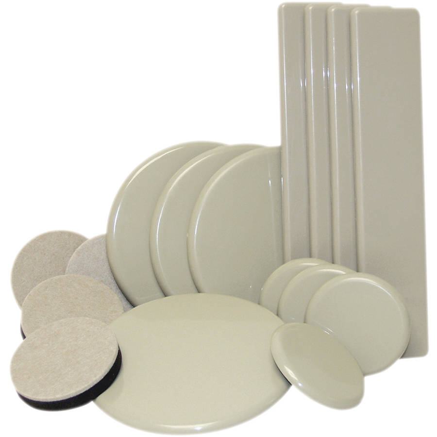 Waxman Consumer Group 4712995NB Oatmeal & Beige Reusable Sliders Moving 16 Piece Kit