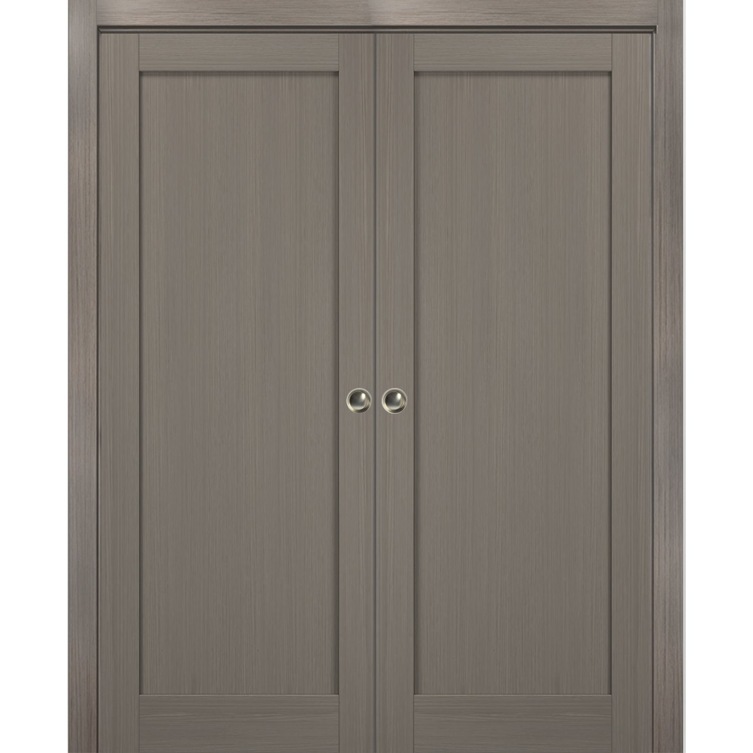 French Double Pocket Doors 60 X 96 With