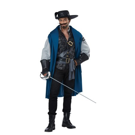 Deluxe Musketeer Men's Halloween Costume