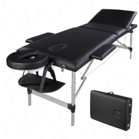 667dc0724fd2 Ktaxon 3-Section Folding Portable Aluminum Collapsible Massage Table Bed  for Facial Spa Tattoo Beauty