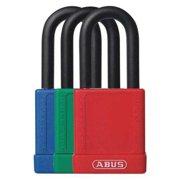 "ABUS 19709 Lockout Padlock,KD,Assorted,1-3/4""H,PK6"