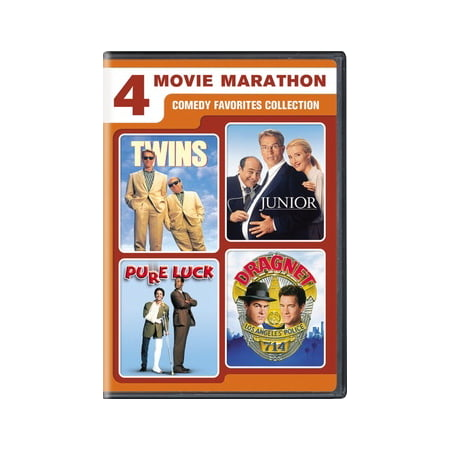 4-Movie Marathon: Comedy Favorites (DVD) - Halloween Movie Marathon London