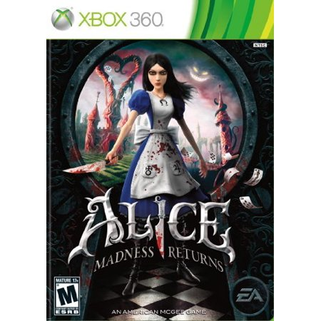 Ea Alice  Madness Returns   Action Adventure Game   Xbox 360   Electronic Arts 9859