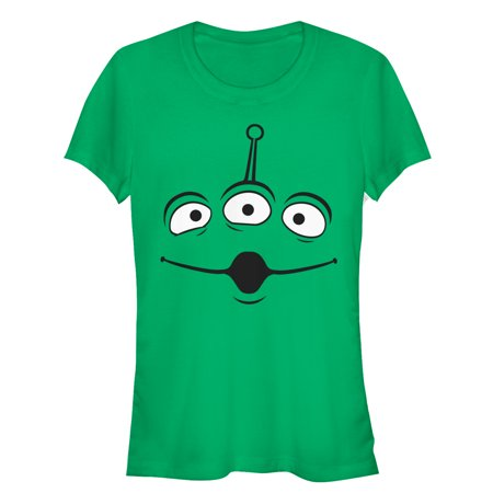 Toy Story Juniors' Squeeze Alien Costume Tee T-Shirt - Toystory Costume