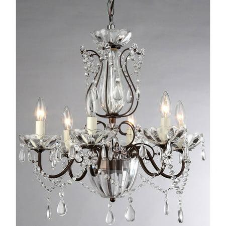 Antique Bronze Classic Crystal - Warehouse of Tiffany Frankenstein 94729 Chandelier