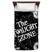 The Twilight Zone Another Dimension Twin Duvet Cover White 68X88