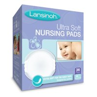 Lansinoh Disposable Stay Dry Nursing Pads, 36 Count