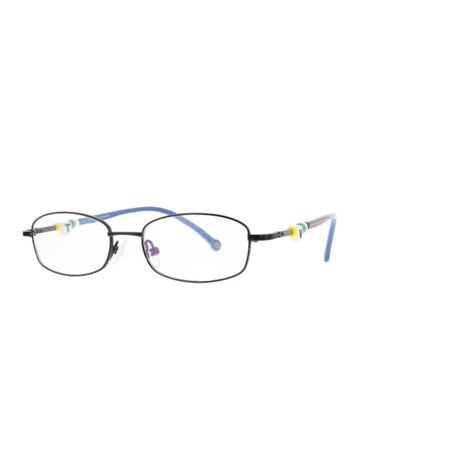 a48cfd96989bf Eye Buy Express Kids Childrens Reading Glasses Black Rounded Rectangular  Stainless Steel Full Frame Anti Glare grade d5342 - Walmart.com