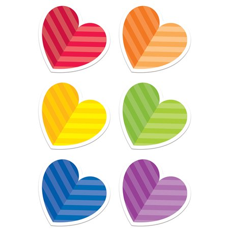 (6 PK) VALENTINES DAY 6IN CUT OUTS for $<!---->