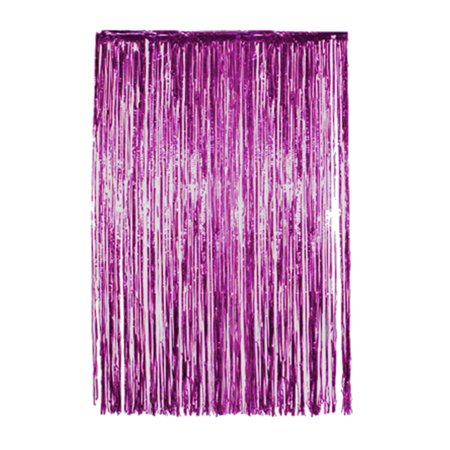 3 Pack Metallic Tinsel Curtains, Foil Fringe Shimmer Curtain Door Window Decoration for Birthday Wedding Party - Discount Party
