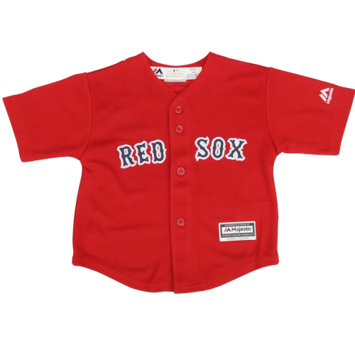 Boston Red Sox Majestic Toddler Official Cool Base Jersey - Red