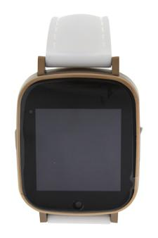 Eclock Ek-G2 Montre Connectee Bronze/white Silicone Strap Smart Watch Watch For Men  1 Pc