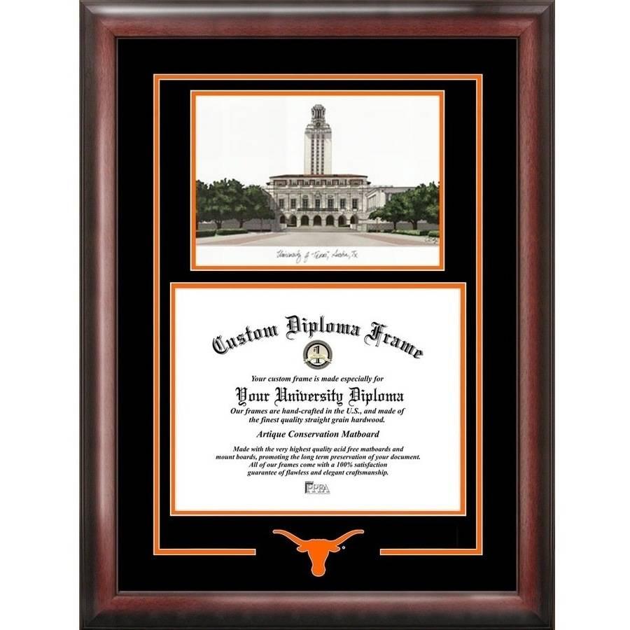 "Texas Longhorns 11"" x 14"" Spirit Graduate Frame Diploma Frame"