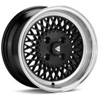 Enkei92 Classic Line 15x7 4x100 38mm Black Wheel - 465-570-4938BK