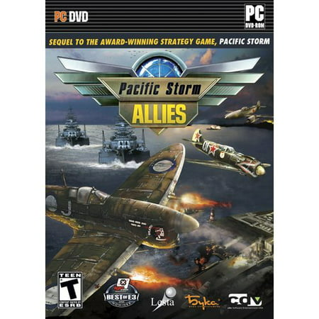 Pacific Storm ALLIES PC DVDRom - Sequel to the Award Winning Strategy Game, Pacific Storm ()