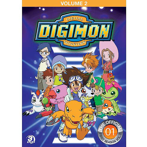 Digimon: Digital Monsters - The Official First Season, Volume Two (Full Frame)