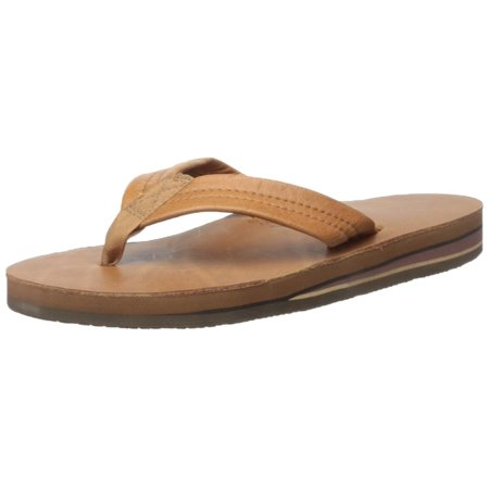 59315673b5c4 Rainbow Sandals - Rainbow Mens Double Layer Classic Leather with Arch  Support Sandal - Classic Tan Brown