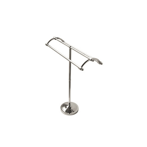 Elements of Design Vintage Pedestal Round Plate Free Standing Towel Rack by Elements of Design