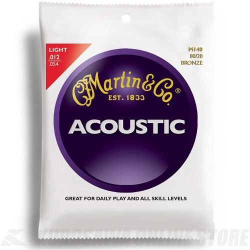 Martin 80/20 Bronze Light Gauge Acoustic Strings