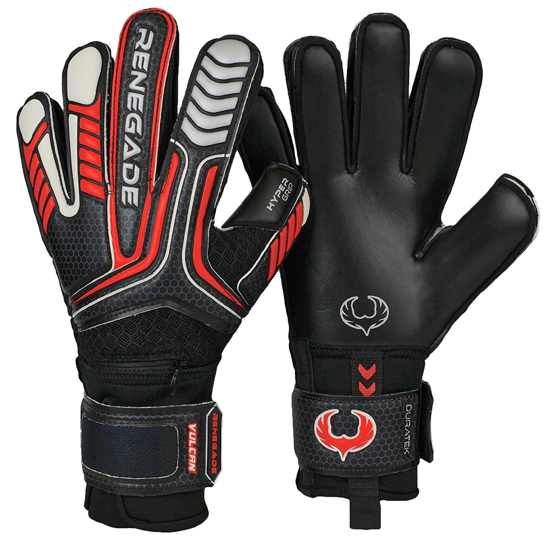 Renegade GK Vulcan Soccer Goalie Gloves with Removable Pro ...