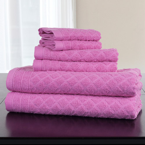 6-Piece Bath Towel Set byEveryday Home