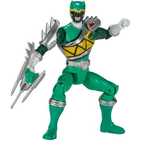Power Rangers Dino Super Charge Dino Steel Green Ranger ()