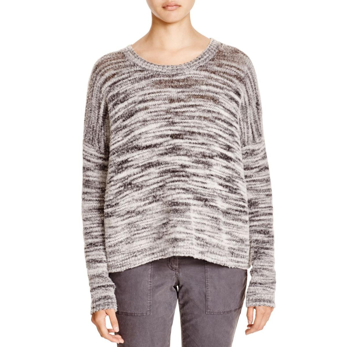 Pure DKNY Womens Wool Crew Neck Pullover Sweater by Pure DKNY
