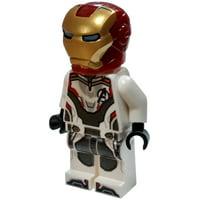 LEGO Marvel Avengers Endgame Iron Man Minifigure [White Jumpsuit] [No Packaging]
